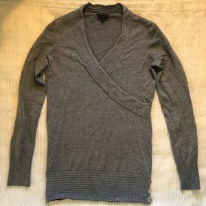G by Guess Long Gray Sweater